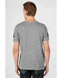 True Religion   Gray Skull And Bones Mens T-shirt for Men   Lyst