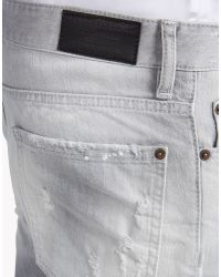 DSquared² - Gray Slim Jeans for Men - Lyst