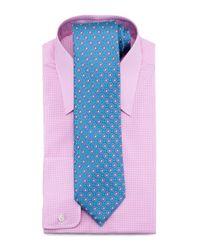 Charvet   Pink Check Dress Shirt for Men   Lyst