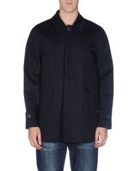 Mauro Grifoni Blue Full-length Jacket for men