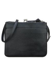 Nine West | Black Jaya Pebbled Crossbody Bag | Lyst