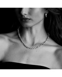 David Yurman - Metallic Crossover Small Hoop Earrings In Gold - Lyst