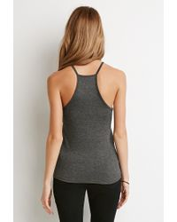 Forever 21 | Gray Bisous Graphic Cami | Lyst