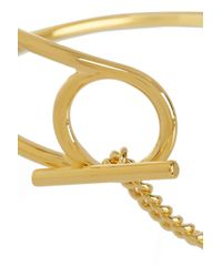 Marc By Marc Jacobs | Metallic Gold-Plated Bracelet | Lyst