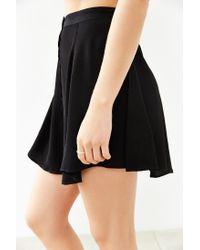 Kimchi Blue - Black Hydrangea Mini Skirt - Lyst
