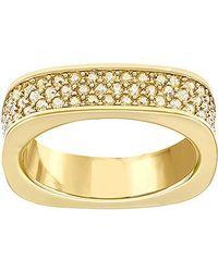 Swarovski Metallic Vio Ring