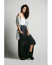 Free People - Black Mad Cool Skirt - Lyst