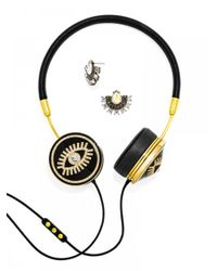 BaubleBar | White Frends X Fortuna Layla Headphones Set-black | Lyst