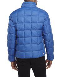 Colmar - Blue Stand Collar Puffer Jacket for Men - Lyst