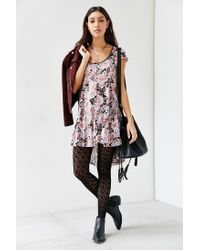 Kimchi Blue   Pink Elizabeth Angled Bodice Dress   Lyst