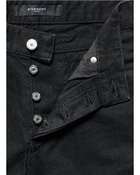 Givenchy - Black Star Print Pocket Jeans for Men - Lyst