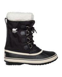 Sorel | Winter Carnival Black Snow Boot | Lyst