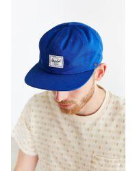 Herschel Supply Co. | Blue Albert Strapback Hat for Men | Lyst