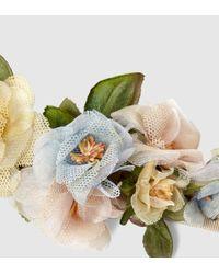 Gucci Multicolor Floral Neck Bow