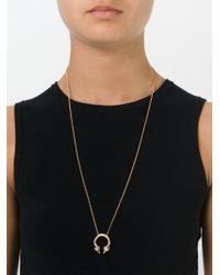 Vita Fede | Metallic 'titan' Ring Necklace | Lyst