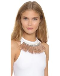 Fiona Paxton - Pink Freja Necklace - Cream - Lyst