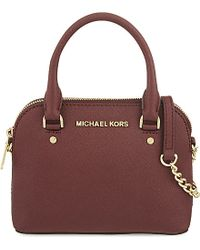 MICHAEL Michael Kors | Purple Cindy Extra Small Cross-body Bag | Lyst