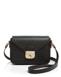 Longchamp | Black Crossbody - Le Pliage Heritage | Lyst