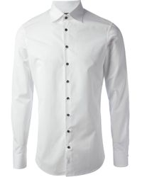 DSquared² | White Dress Shirt for Men | Lyst