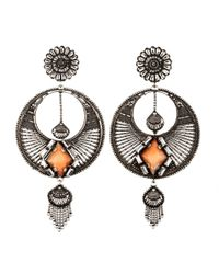 DANNIJO | Metallic Iva Chandelier Earrings | Lyst