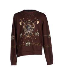 Dolce & Gabbana - Brown Sweatshirt for Men - Lyst