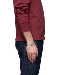 Tateossian Metallic 'soho' Copper Double Wrap Bracelet for men