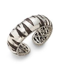 John Hardy - Metallic Palu Macan Sterling Silver Kick Cuff Bracelet - Lyst