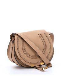 Chloé | Brown Clay Beige Leather Small Shoulder Bag | Lyst