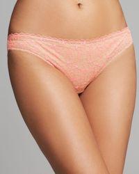 Elle Macpherson Pink Thong - Fluro Summer #E37-1138