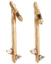 Kelly Wearstler | Metallic 'faxon' Earrings | Lyst