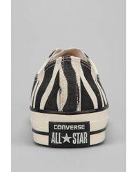 Converse - Multicolor Chuck Taylor All Star Zebra Lowtop Mens Sneaker for Men - Lyst