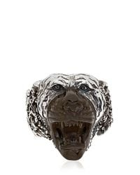 KD2024 | Black Hand-carved Tiger Ring | Lyst