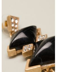 Gerard Yosca - Metallic Statement Earrings - Lyst