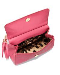 Dolce & Gabbana - Pink Mini Dauphineleather Miss Sicily Satchel - Lyst