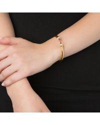 Vita Fede | Metallic Mini Titan Crystal Bracelet, Gold | Lyst