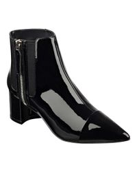 Nine West | Black Wasabi Pointy Toe Booties | Lyst