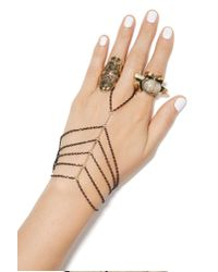 Nasty Gal Metallic Tahi Hand Piece