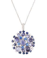 Roberto Coin - Blue 18k Diamond - Lyst