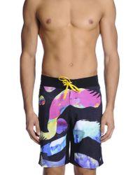 Quiksilver - Black Beach Trousers for Men - Lyst