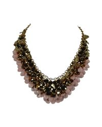 Ziba | Pink Sylvia Necklace | Lyst