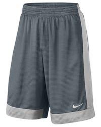 Nike Gray Men's Fastbreak Shorts for men