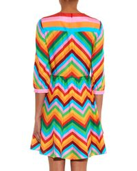 Valentino - Pink 1973 Rainbow Silk Dress - Lyst