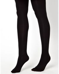 ASOS - Black 3 Pack 80 Denier Tights with Supportive Band - Lyst