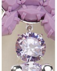 EK Thongprasert - Purple Silicone Earrings - Lyst