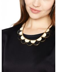 kate spade new york | Multicolor Sweetheart Scallops Necklace | Lyst