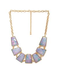 Forever 21 Purple How Holographic Necklace