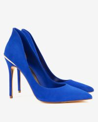 Ted Baker - Blue High Back Court Shoes - Lyst