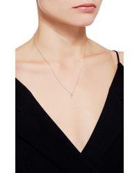 Lauren Klassen - Metallic Tiny Key Necklace - Lyst