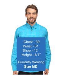 Under Armour - Blue Ua Chesapeake L/s Plaid Shirt for Men - Lyst