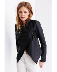 BB Dakota | Black Tamela Vegan Leather Jacket | Lyst